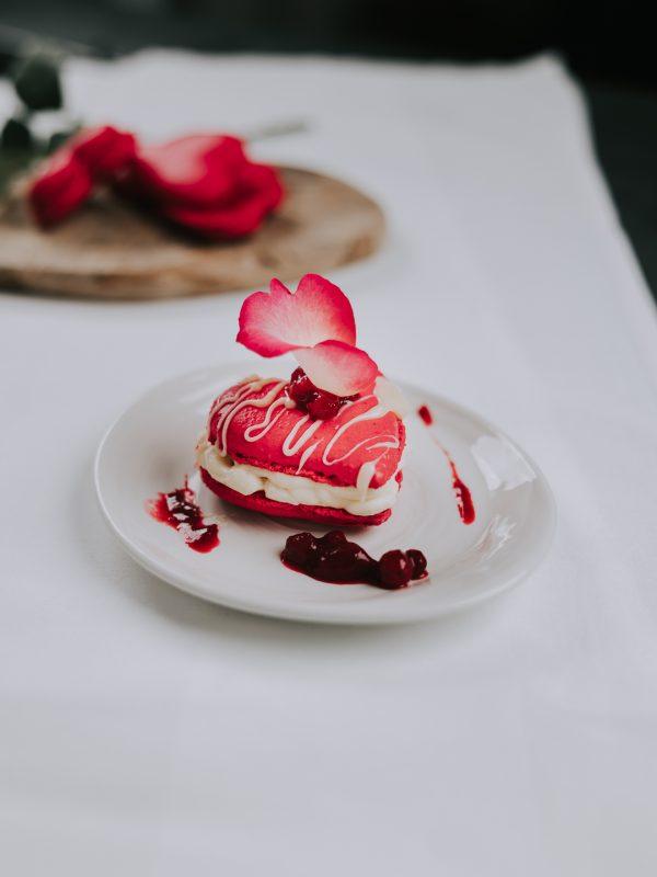 Valentijns macarons