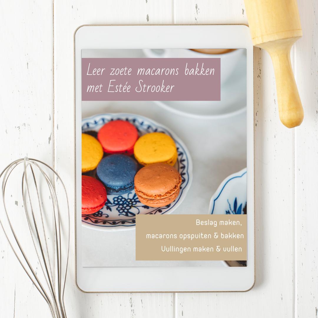 Masterclass macarons bakken